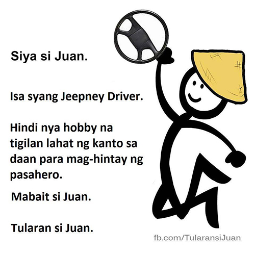 Juan is #JeepneyDriverGoals