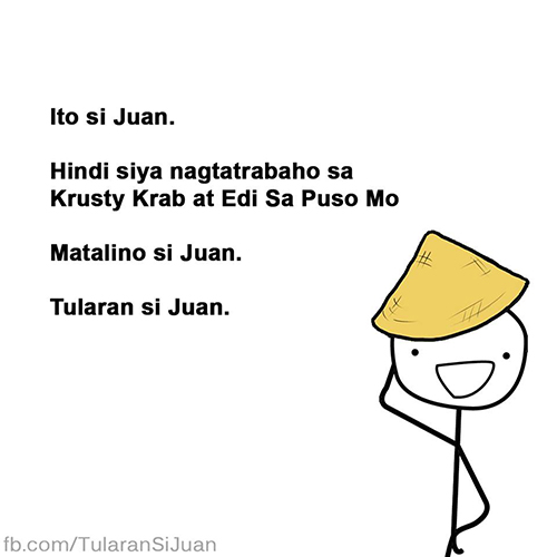 Juan is not a Jejemon