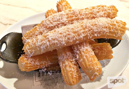 Churros in Wildflour Cafe + Bakery