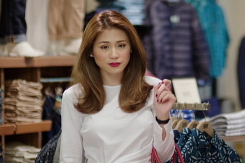 Toni Gonzaga as Georgina in the movie You're My Boss