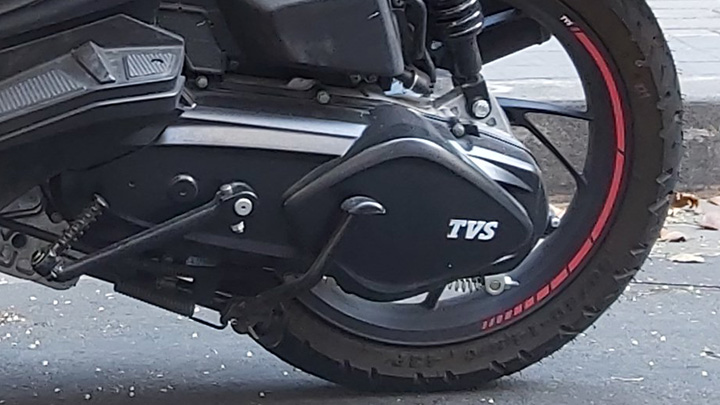 2021 TVS Dazz Prime engine