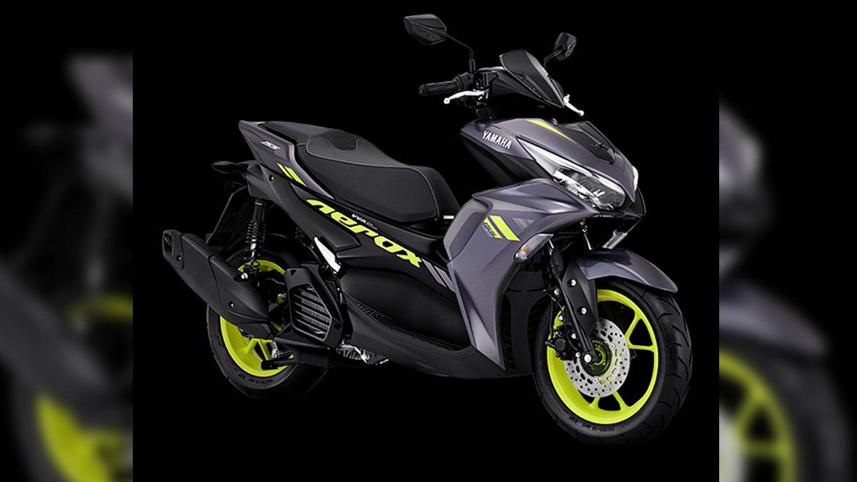 2021 Yamaha Mio Aerox 155 Black Raven