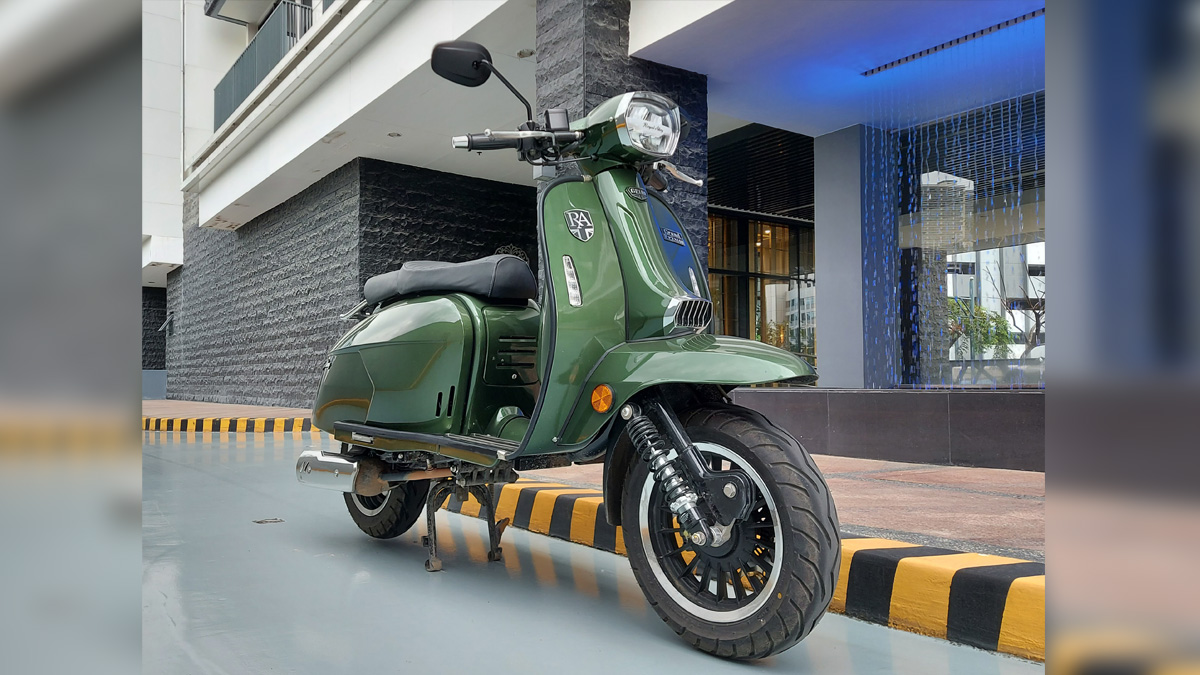 Royal Alloy GP180 scooter