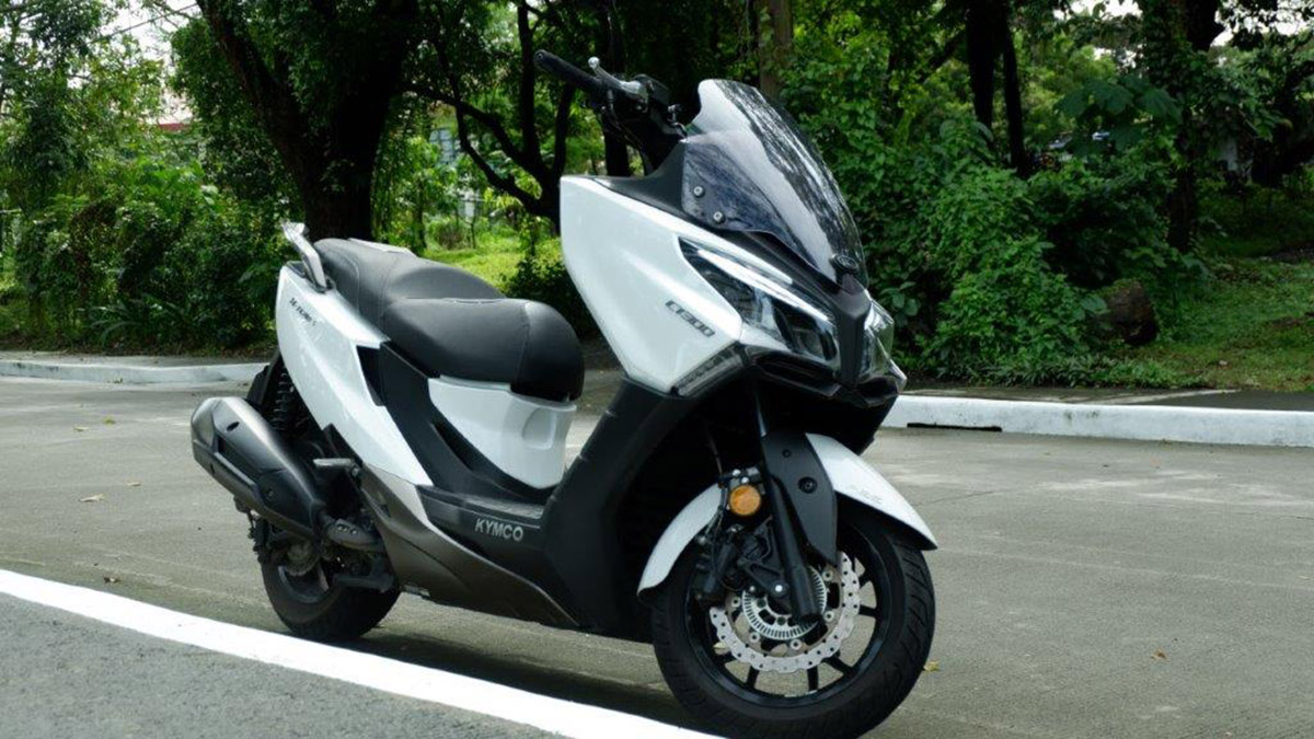 2021 Kymco X-Town CT 300i mid-size scooter