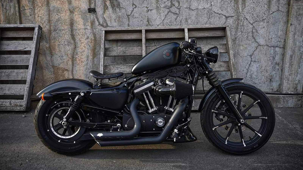Benedict Ang's Sportster Iron 883