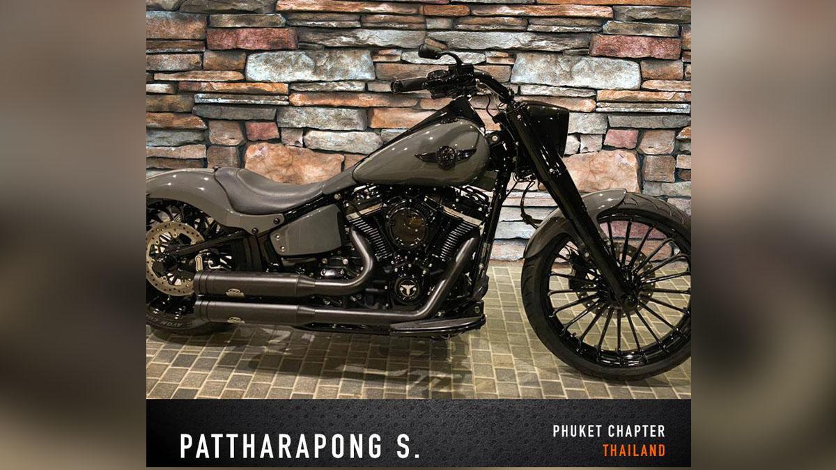 Pattharapong S. Custom Bike