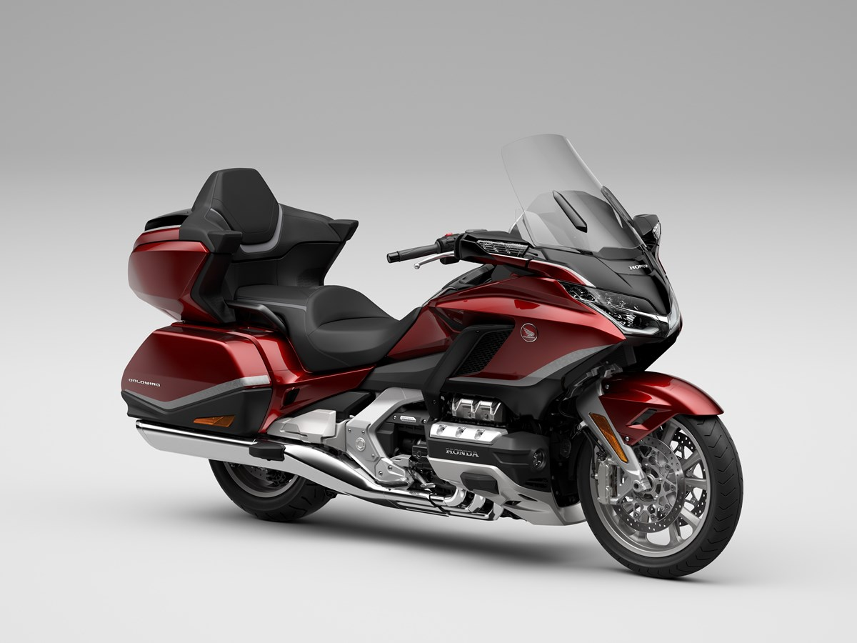 Honda GL1800 Gold Wing Tour Candy Ardent Red color