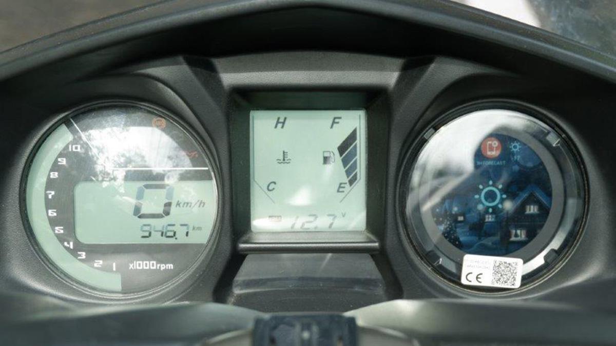 Kymco X-Town CT 300i Dashboard