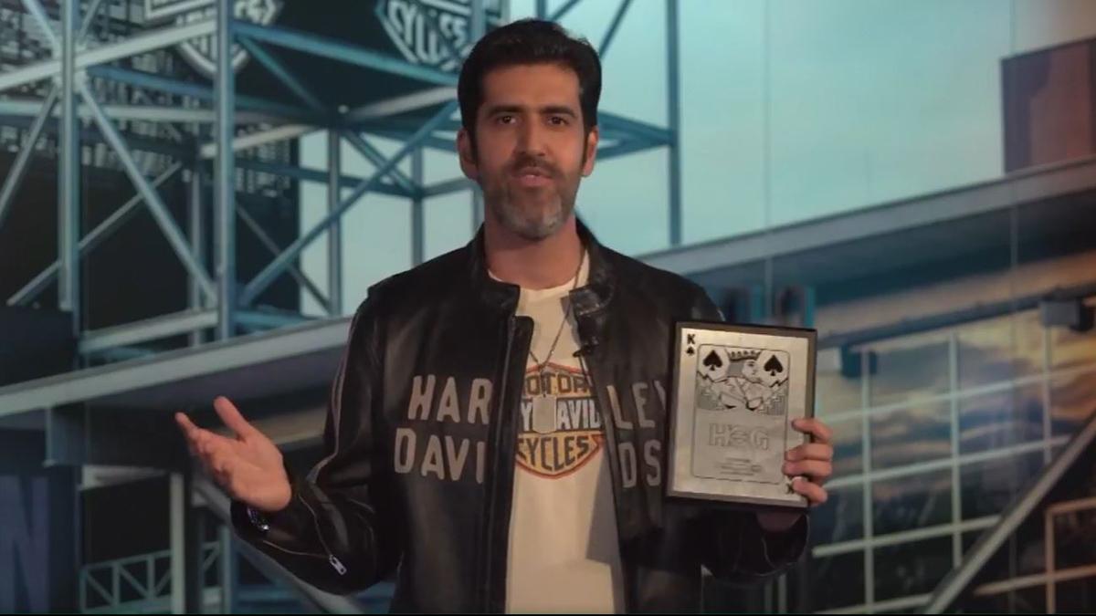 Harley-Davidson Custom King Spade Award