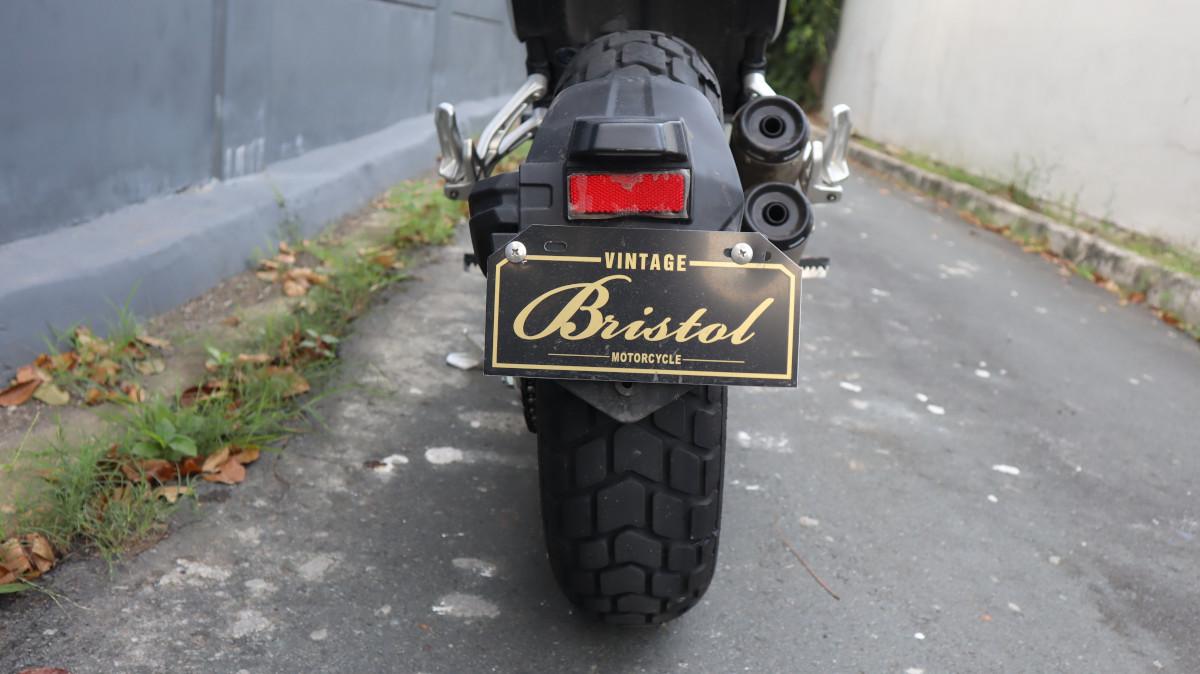 Bristol Veloce 500 License Plate