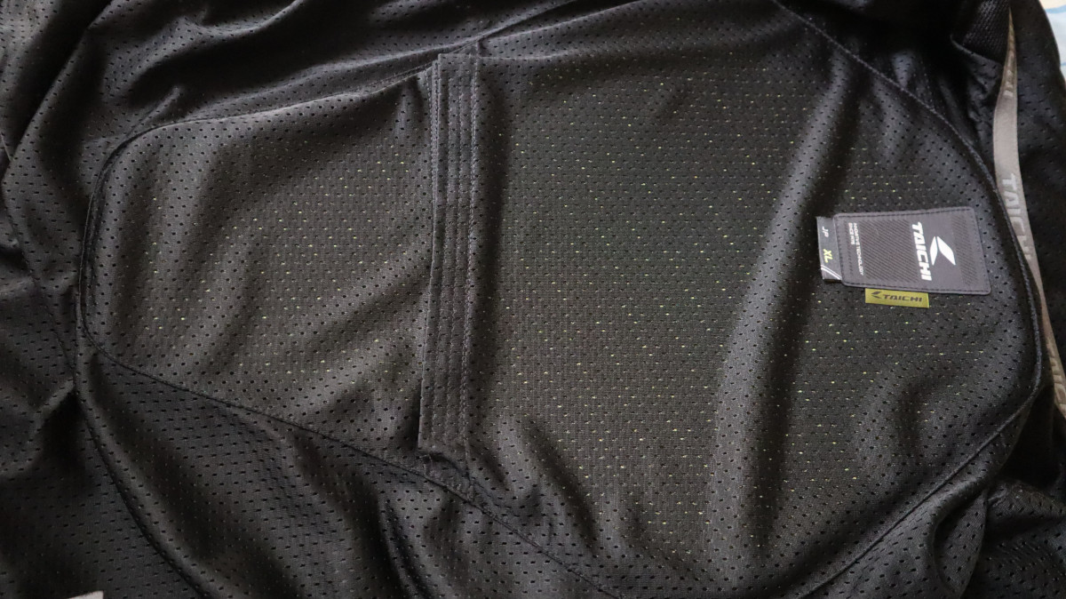 RS Taichi RSJ320 Crossover Mesh Jacket T-DRY Sweat-absorbing Material