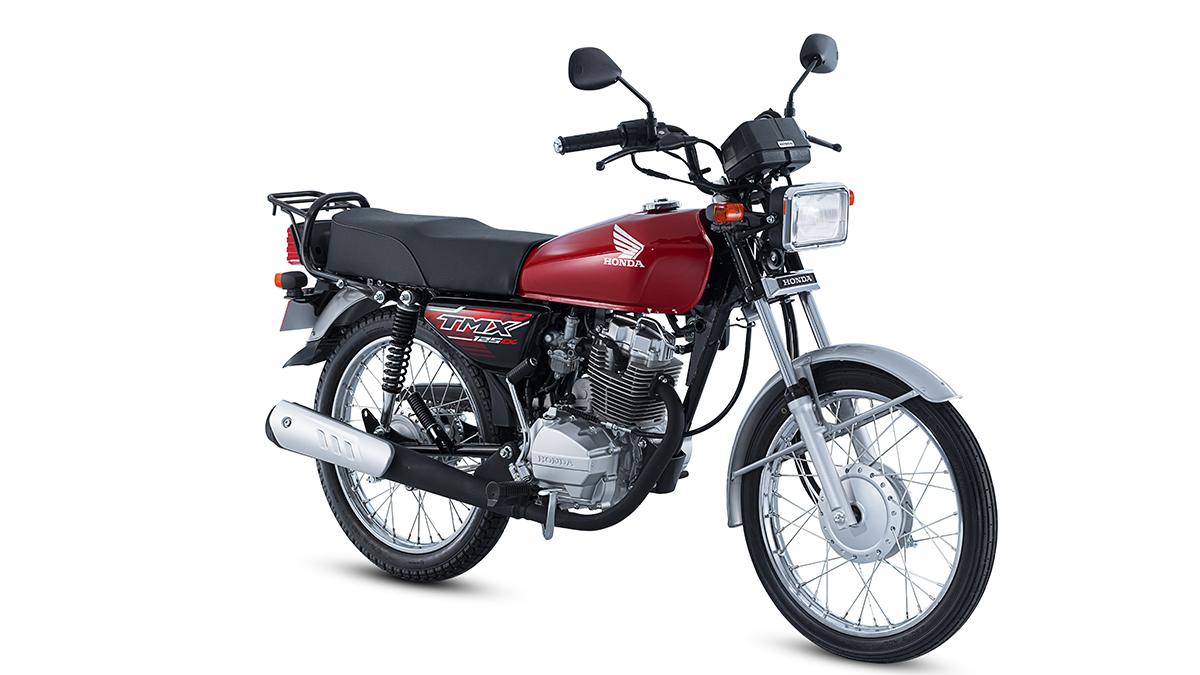 Candy Ruby Red Honda TMX125 Alpha