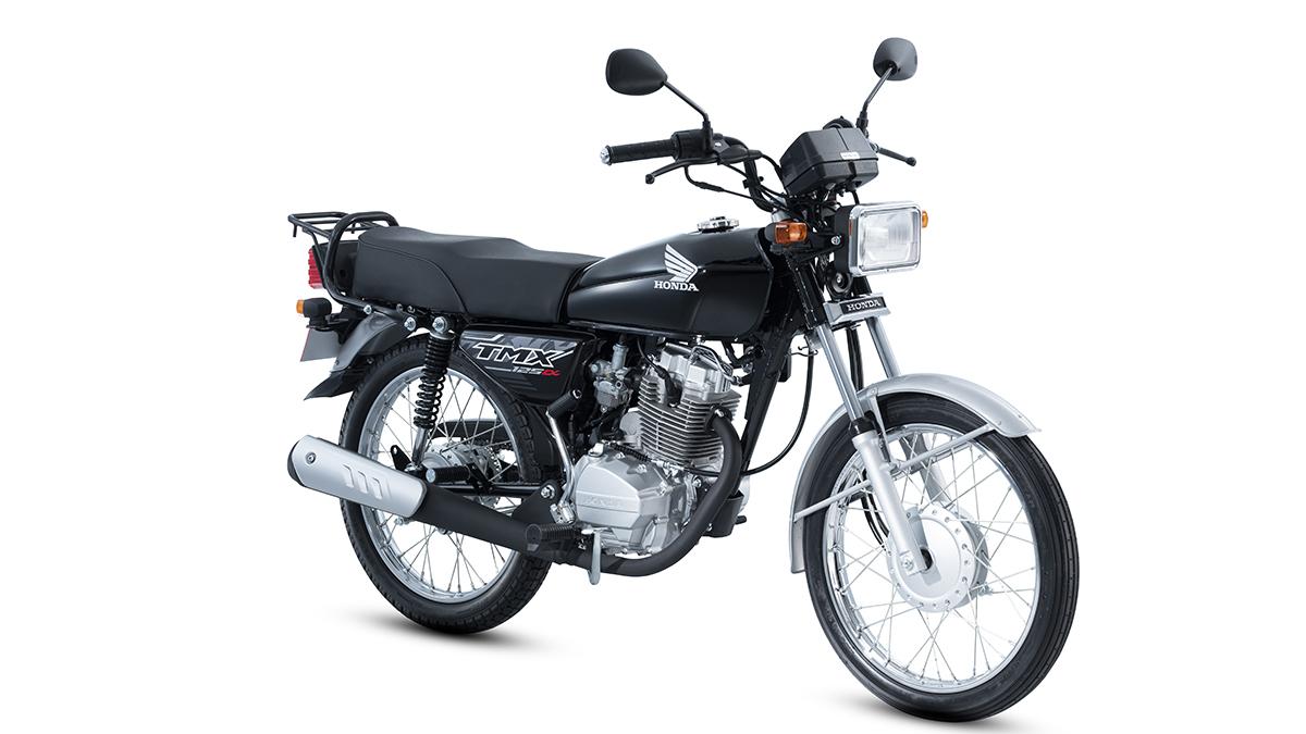 Black Honda TMX125 Alpha