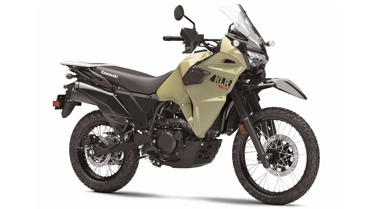 Gold Kawasaki KLR650