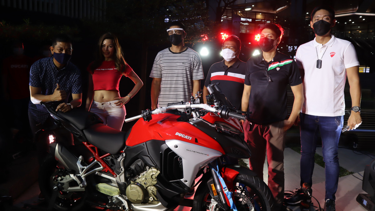 Unboxing Ceremony of Ducati Multistrada V4