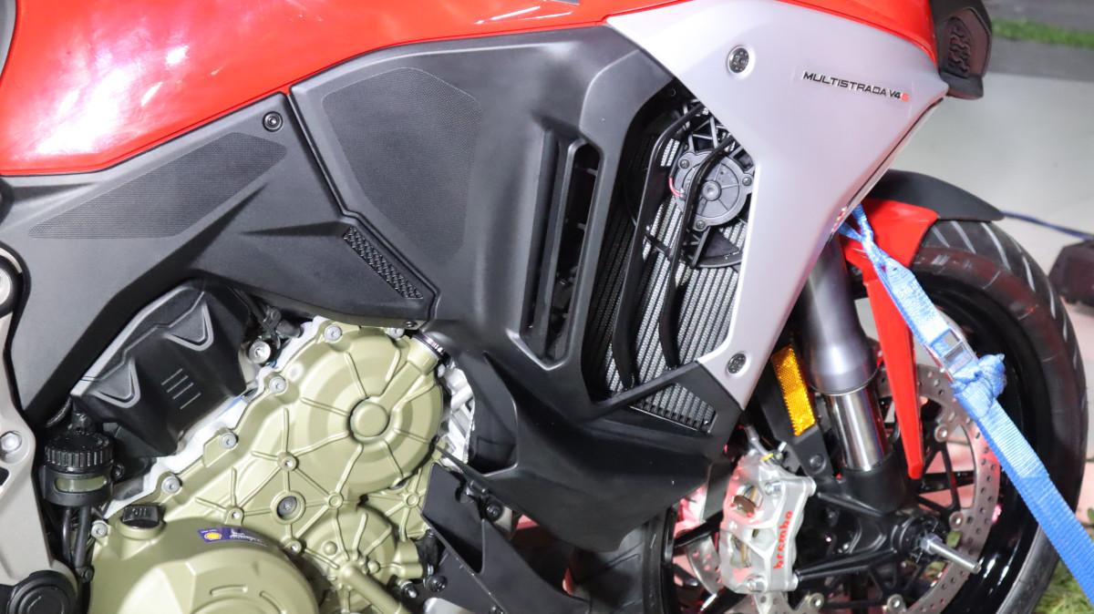 Ducati Multistrada V4 Monocoque Frame