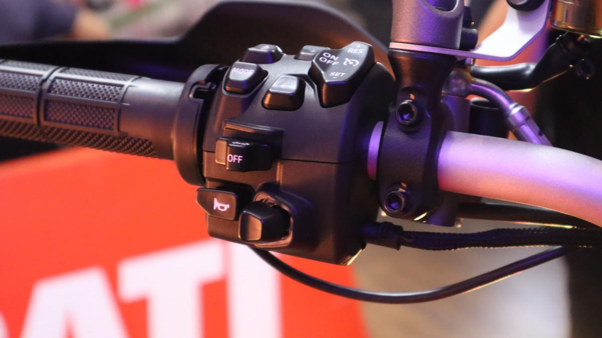Ducati Multistrada V4 Left Handle Switch
