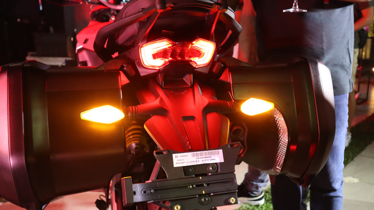 Ducati Multistrada V4 Rear Tail Light