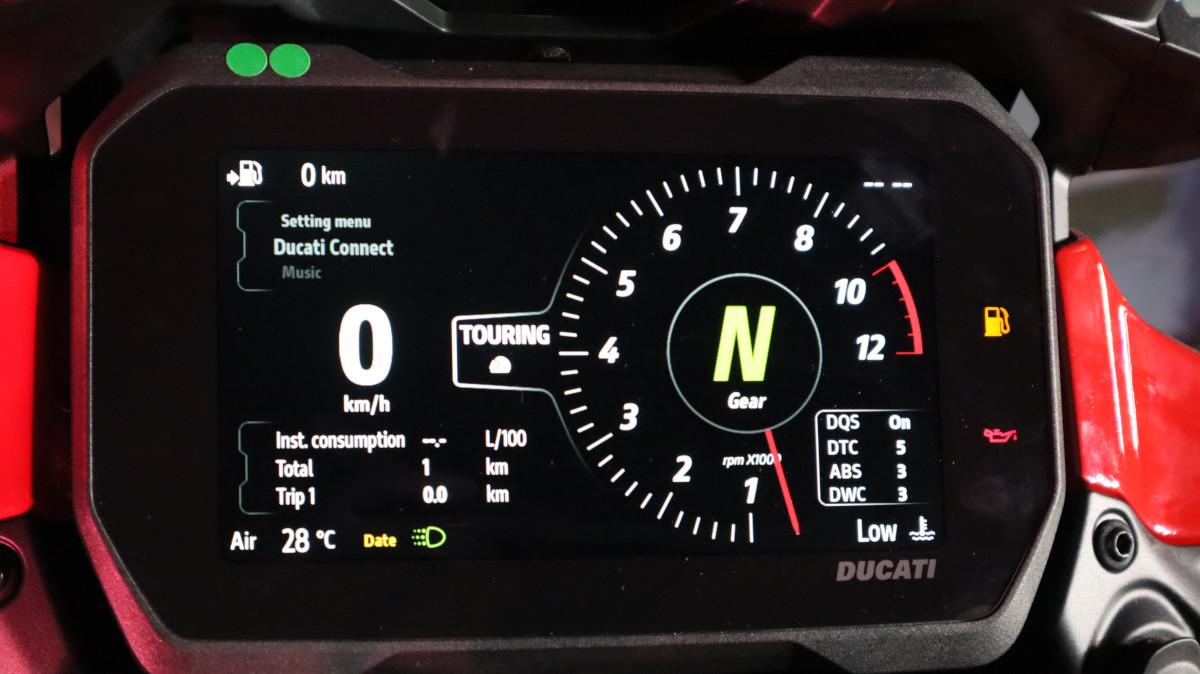 Ducati Multistrada V4 TFT Screen