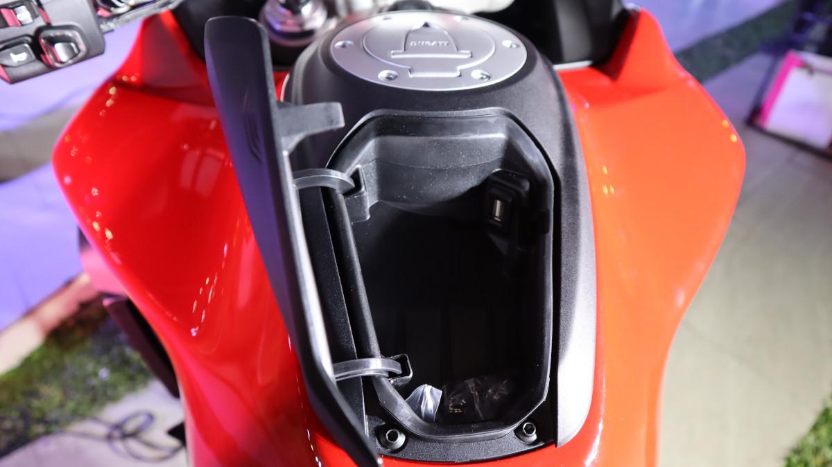 Ducati Multistrada V4 Compartment
