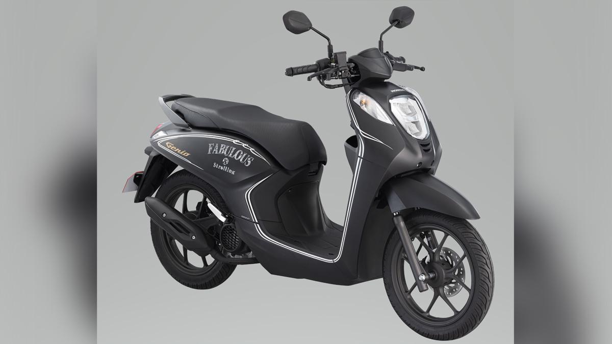 Honda Genio Matte Gunpowder Metallic Black