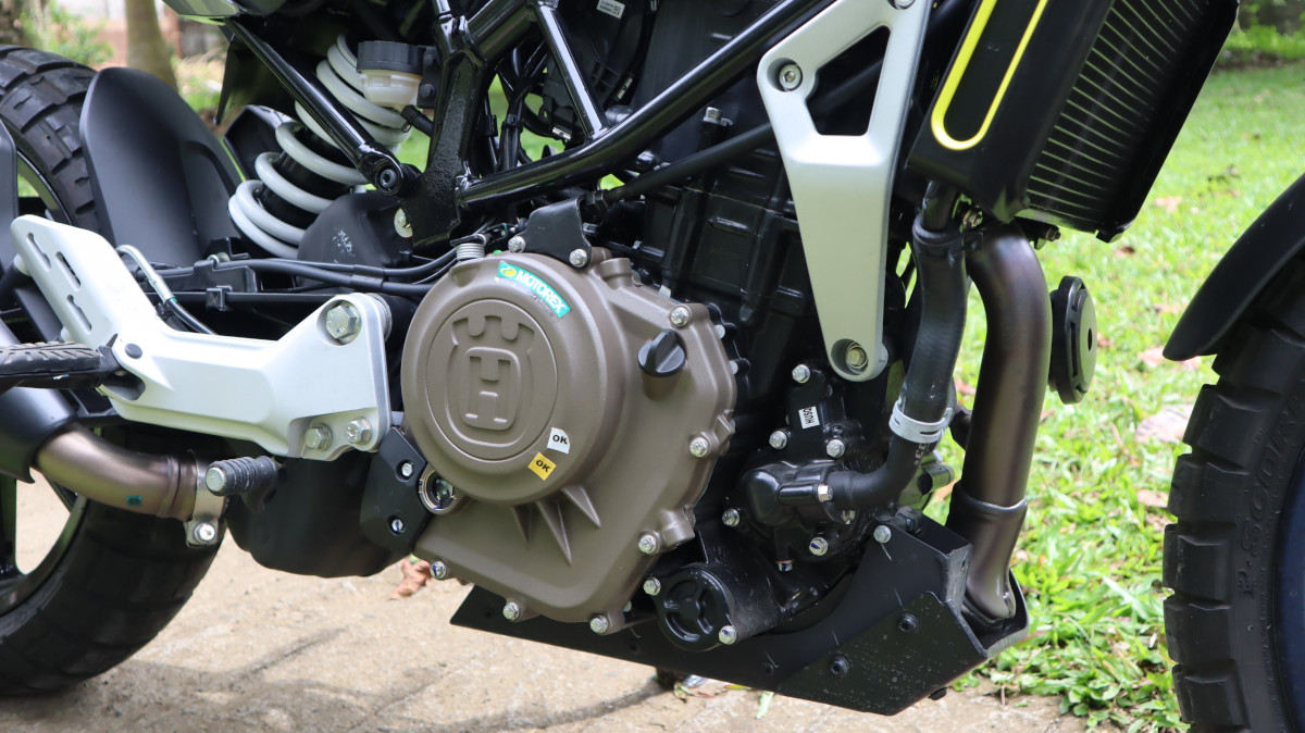 Husqvarna Svartpilen 401 Engine