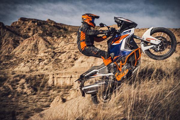 Man Riding the KTM 1290 Super Adventure R