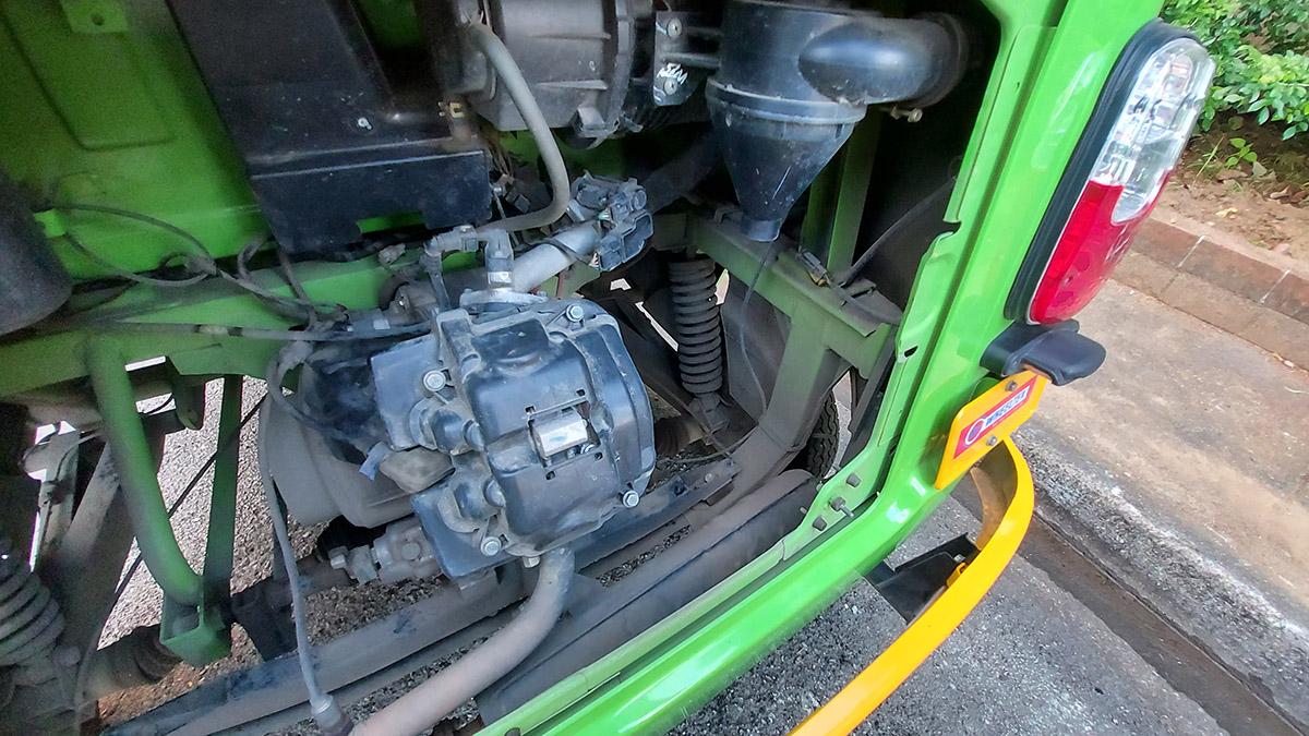TVS King Engine