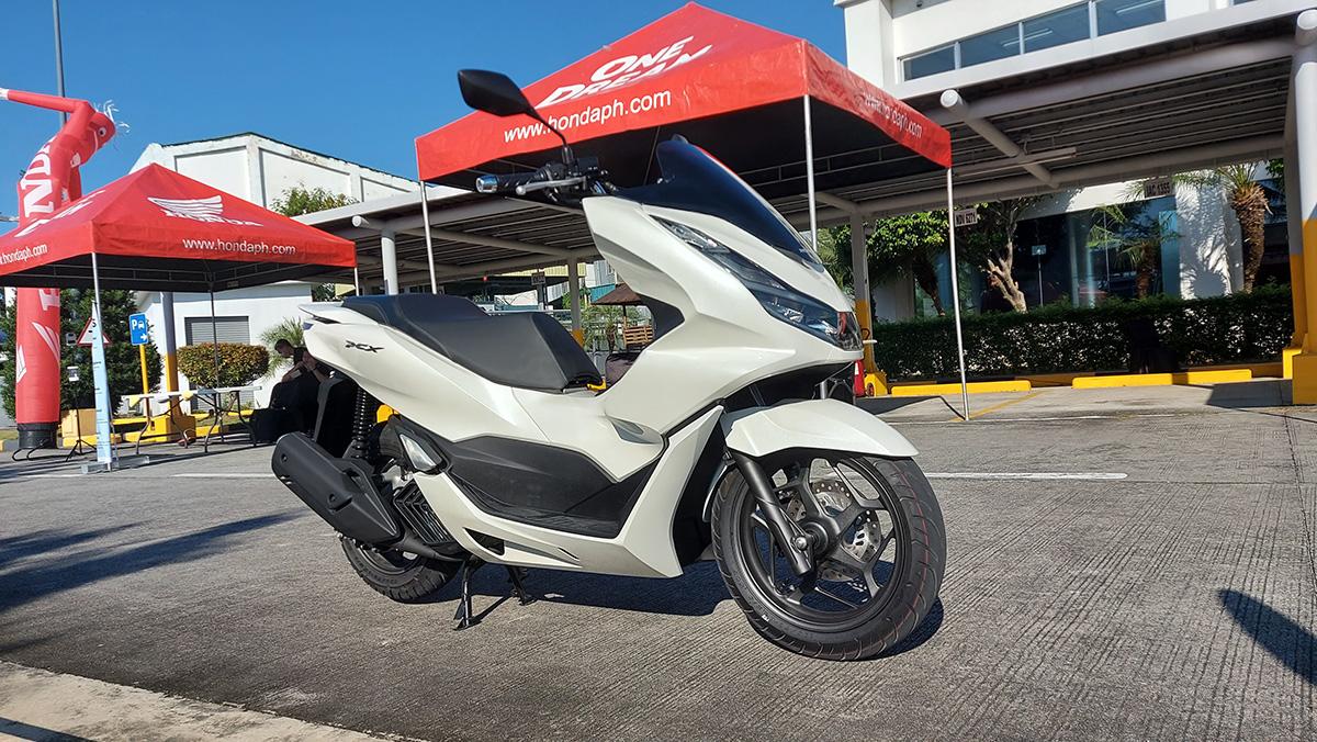 Honda PCX160 CBS Matte Din Gray