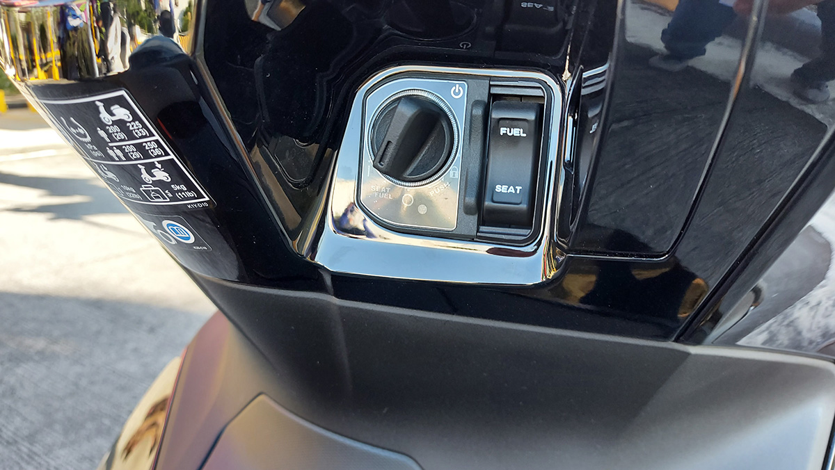 Honda PCX160 Selectable Torque Control System