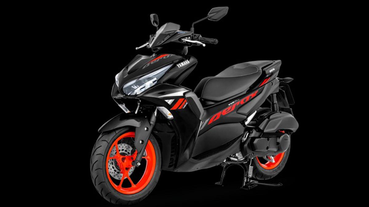 2021 Yamaha Mio Aerox 155 Red