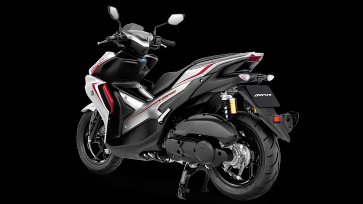 2021 Yamaha Mio Aerox 155 Dark Gray