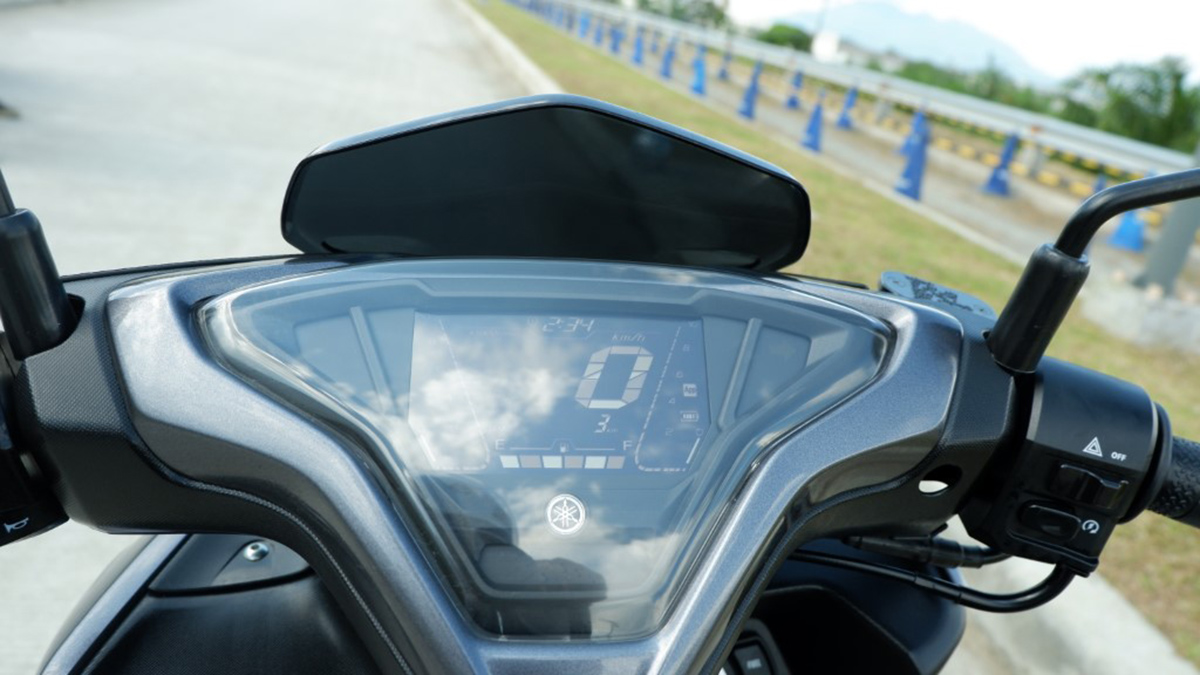 2021 Yamaha Mio Aerox Digital LCD Panel