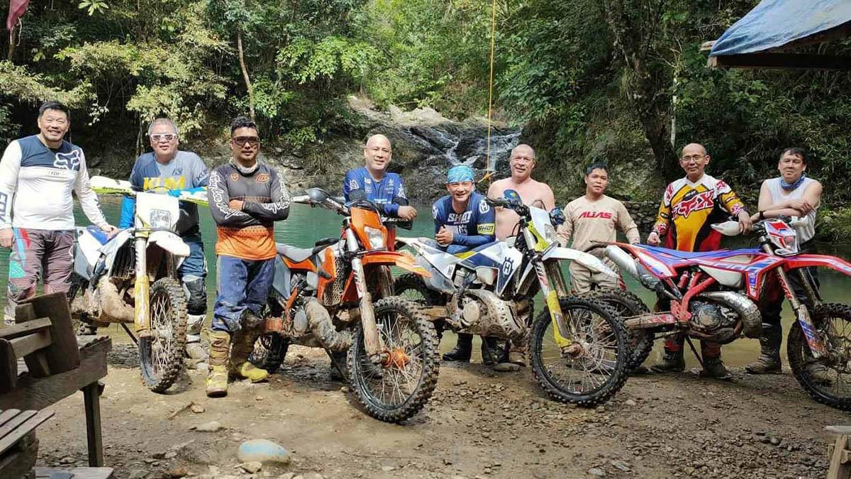 Moto camping