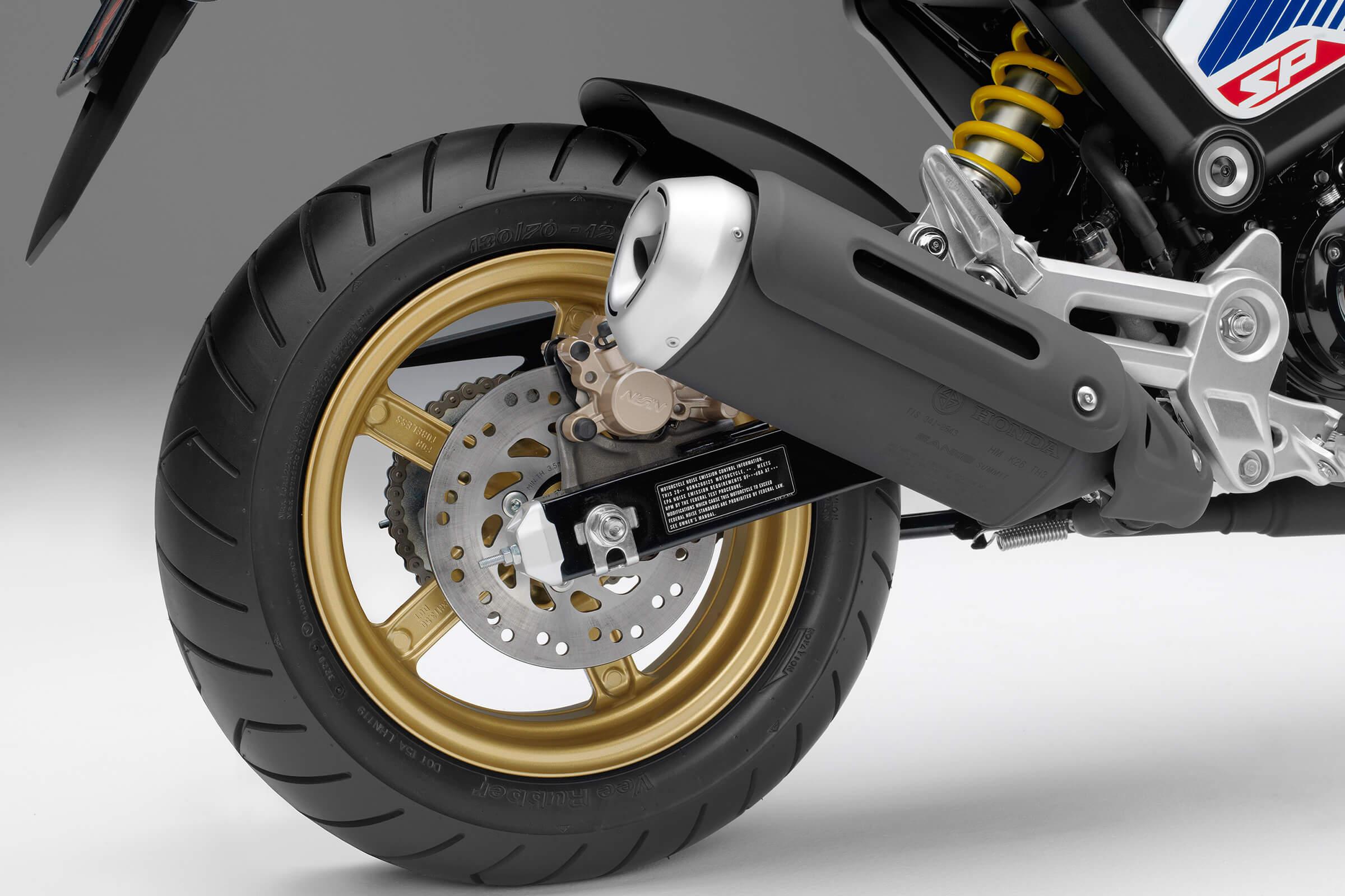 2021 Honda Grom Exhaust System
