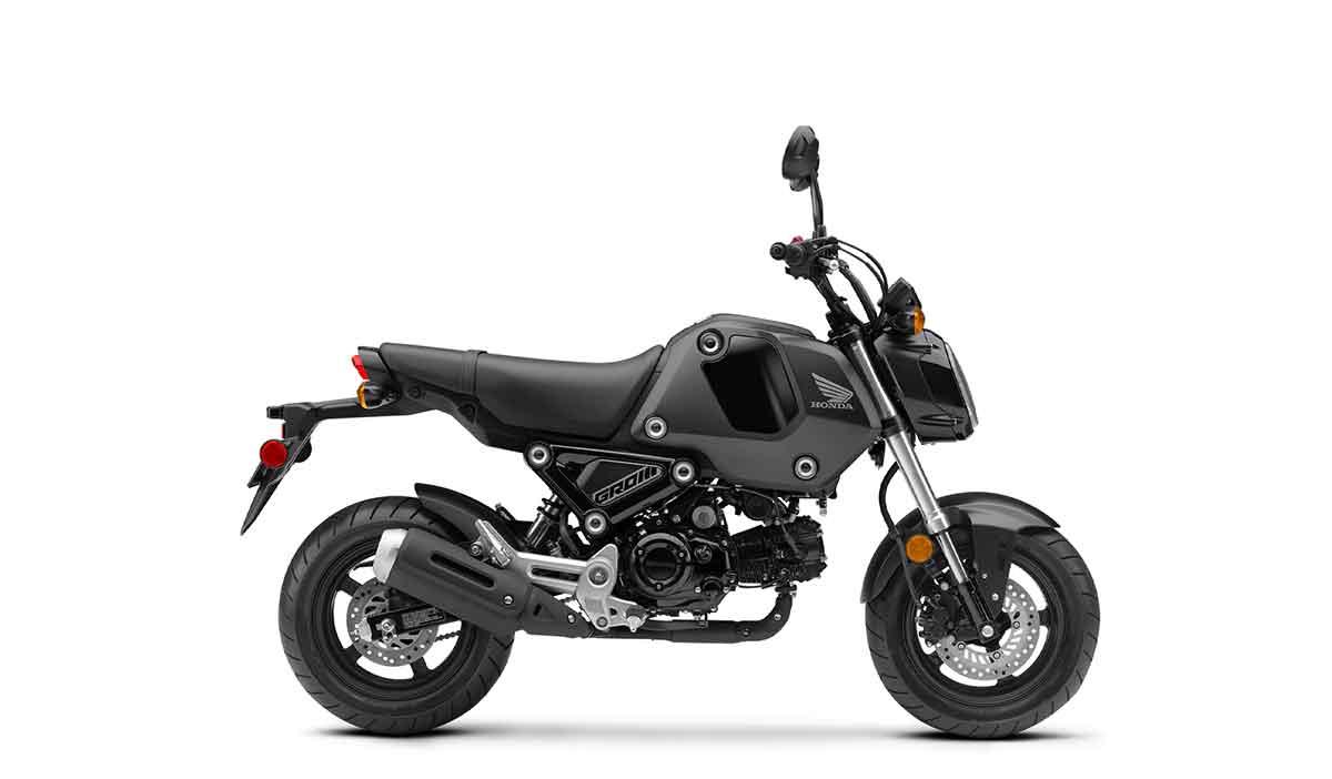 Matte Black Metallic 2021 Honda Grom