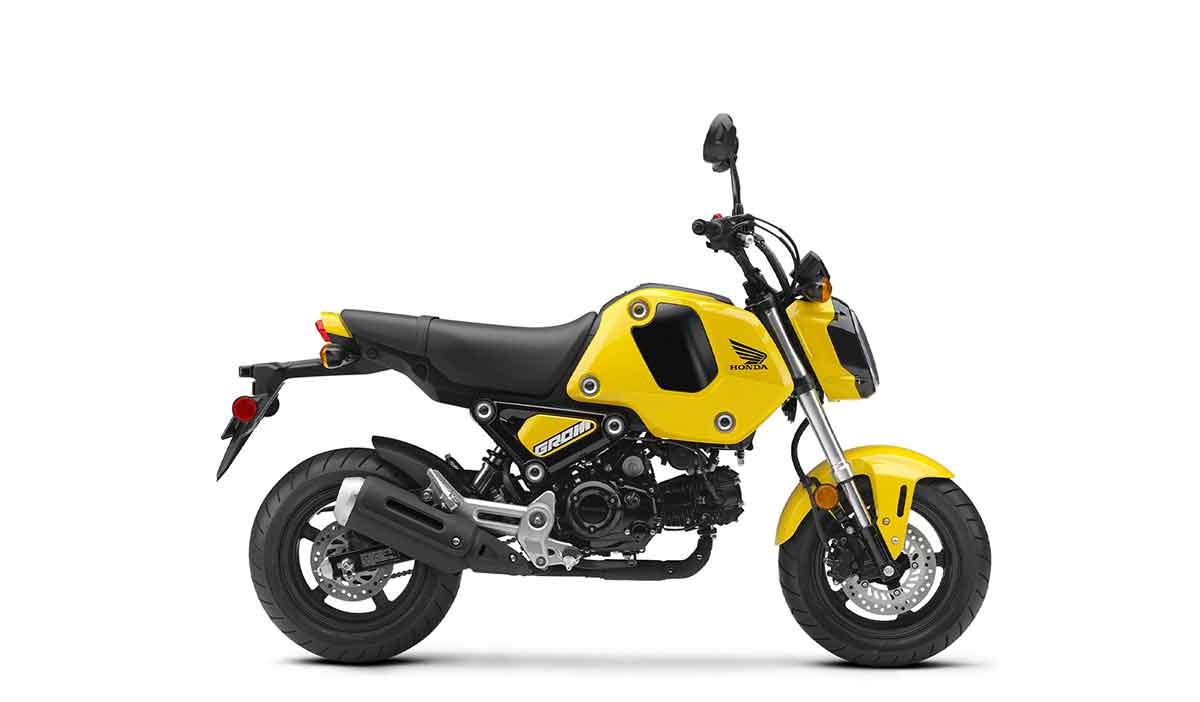 Queen Bee Yellow 2021 Honda Grom