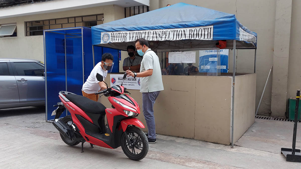 Motor Vehicle Inspection Booth