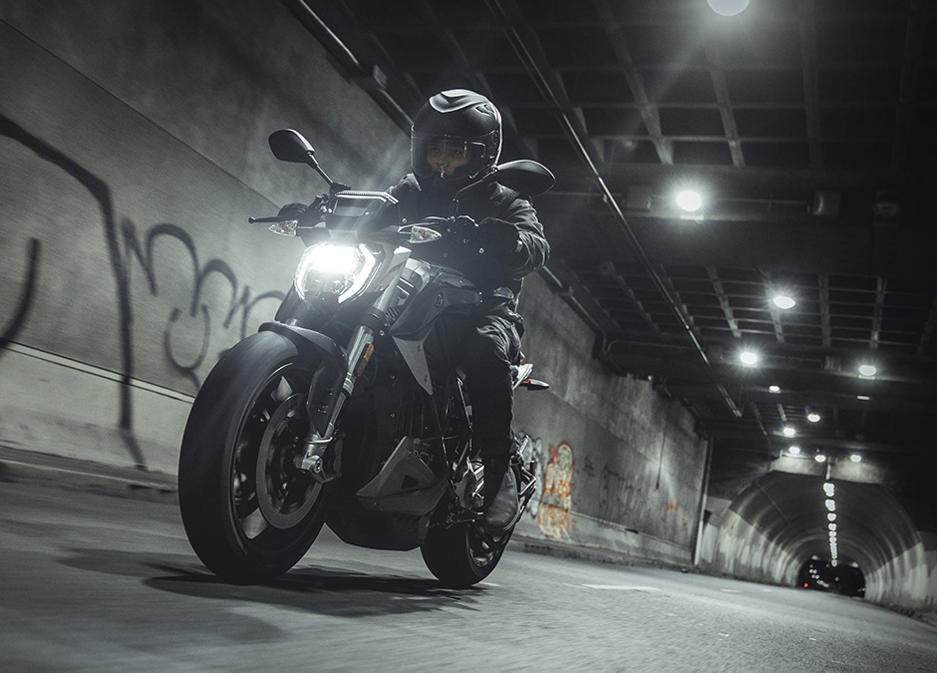 Zero SR/F Electric Motorcycle.