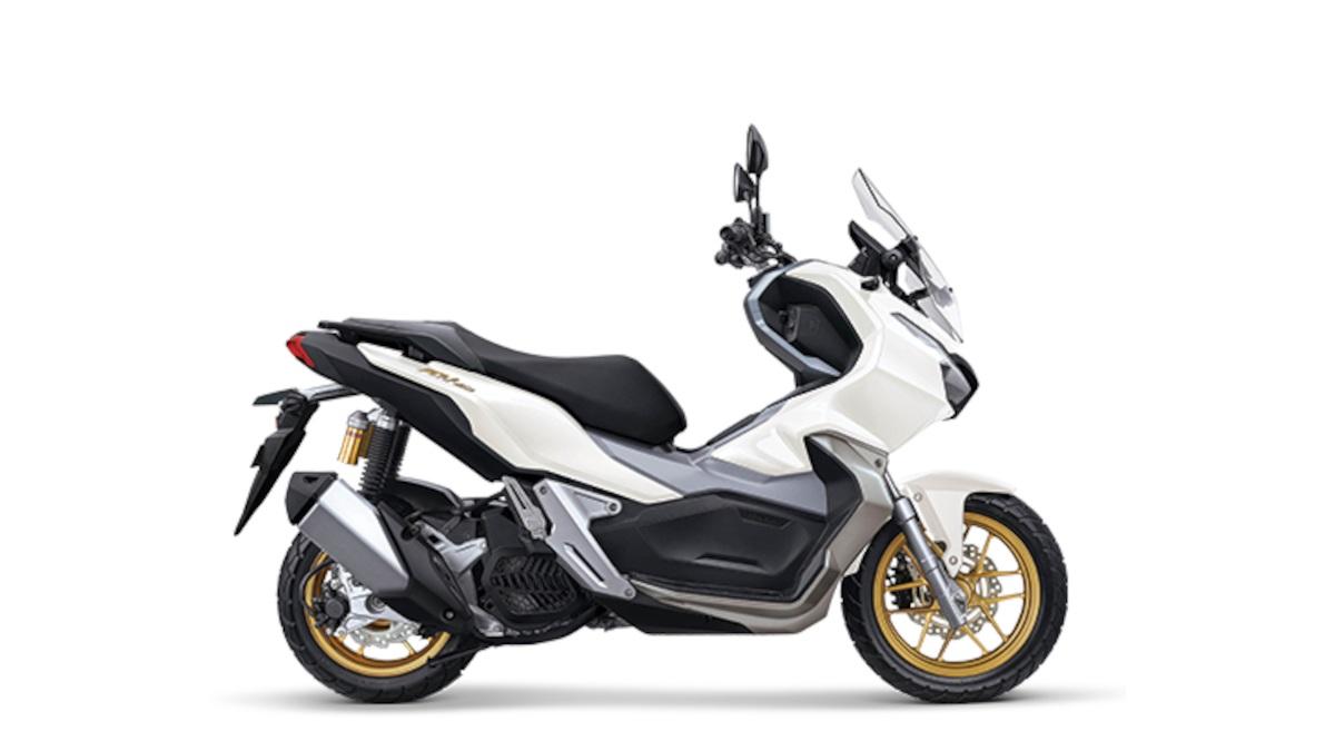 Pearl Fadeless White Honda ADV 150