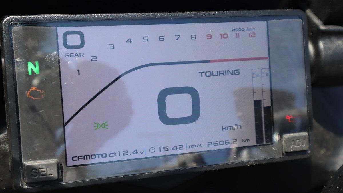 CFMoto 650GT TFT Display Screen