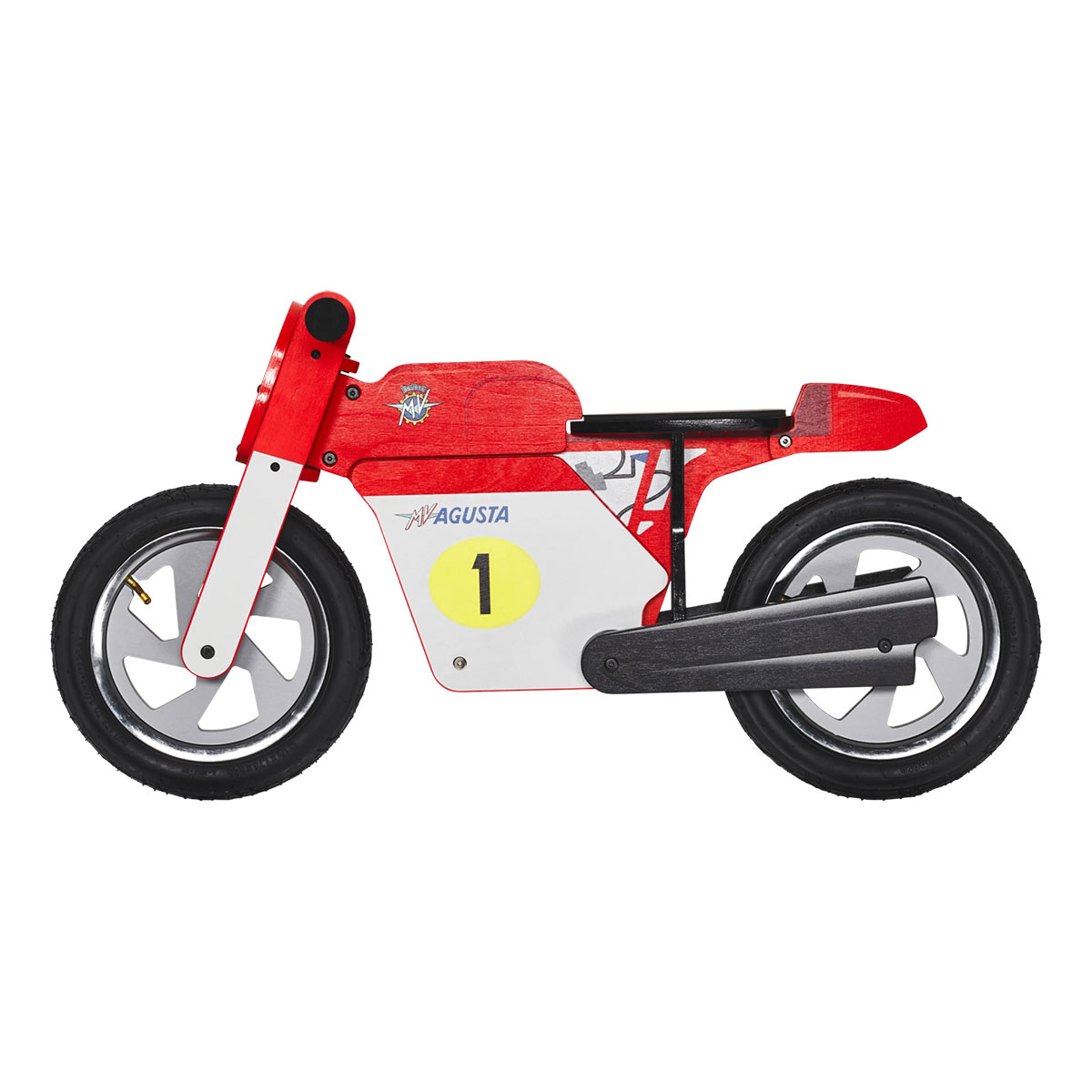 MV Agusta Vintage Wooden Balance Bike