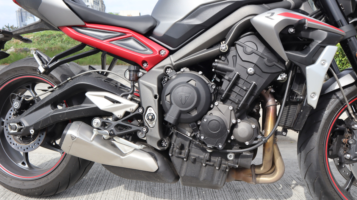 Triumph Street Triple R Engine