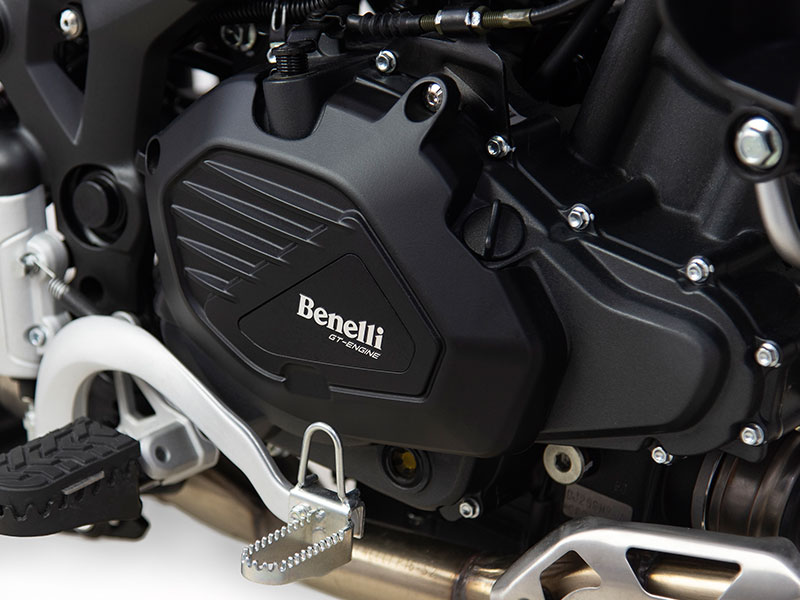 Benelli TRK 502X Engine