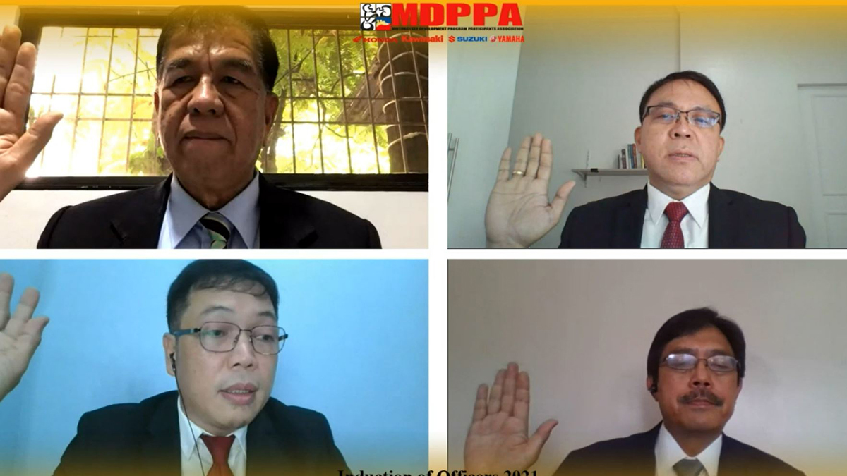MDPPA Induction of Officers