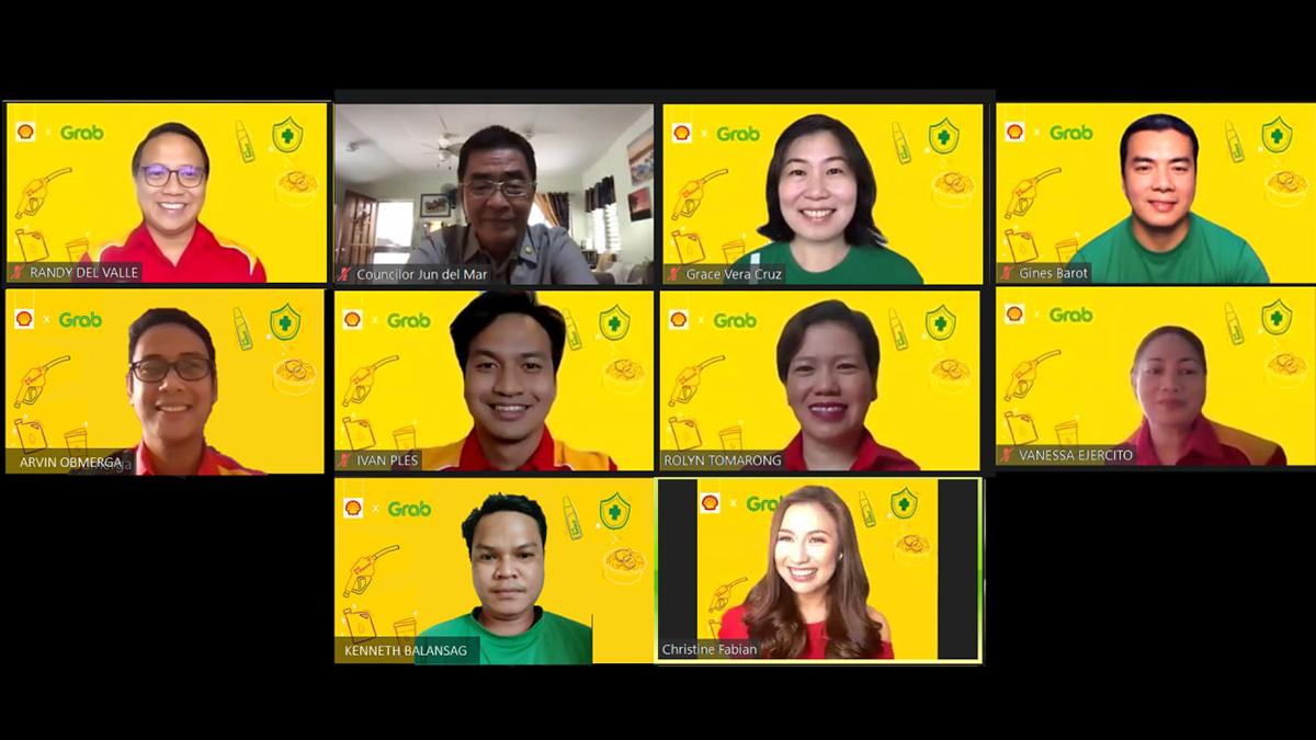 Pilipinas Shell x Grab Partnership