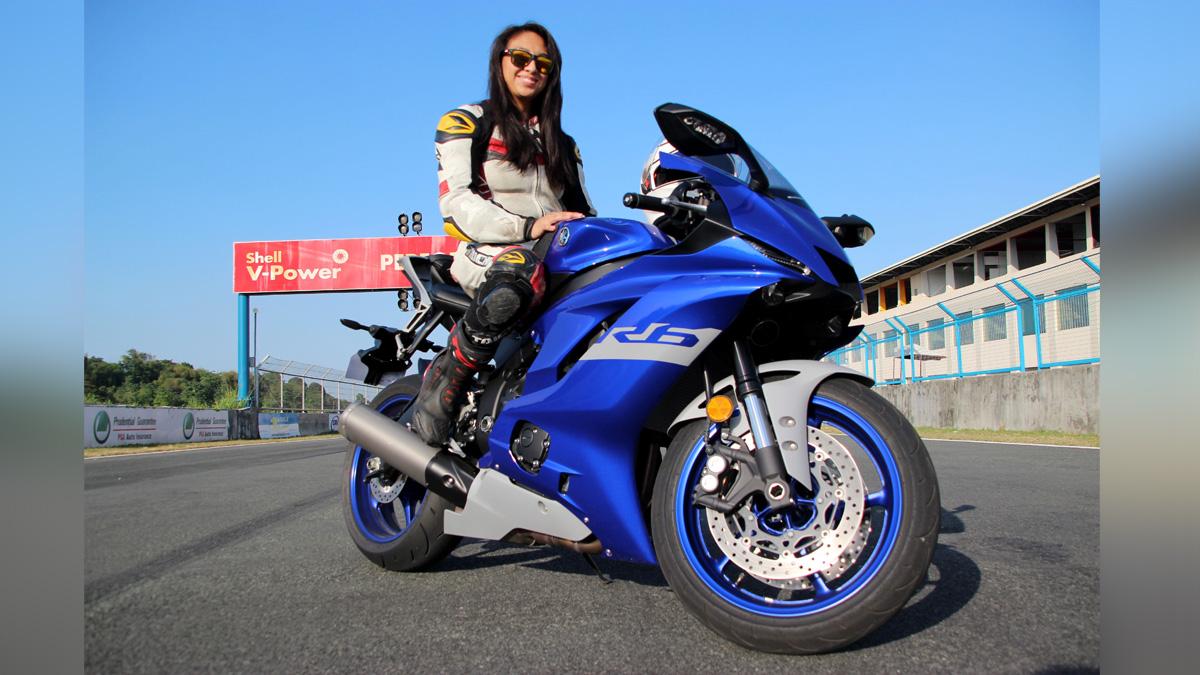 Che Estepa and the Yamaha YZF-R6