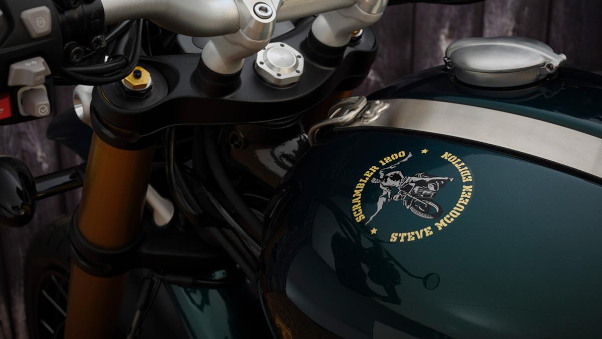 Triumph Scrambler 1200 Steve McQueen Edition Keyless Ignition