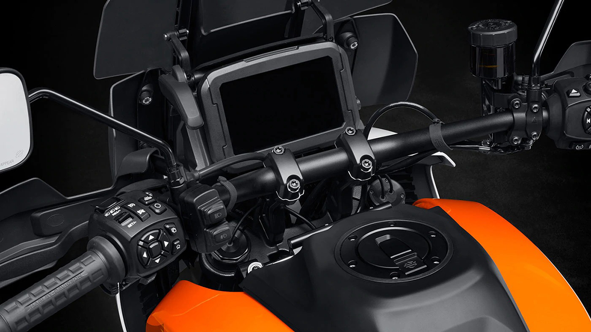 Harley-Davidson Pan America 1250 Special Touchscreen Display