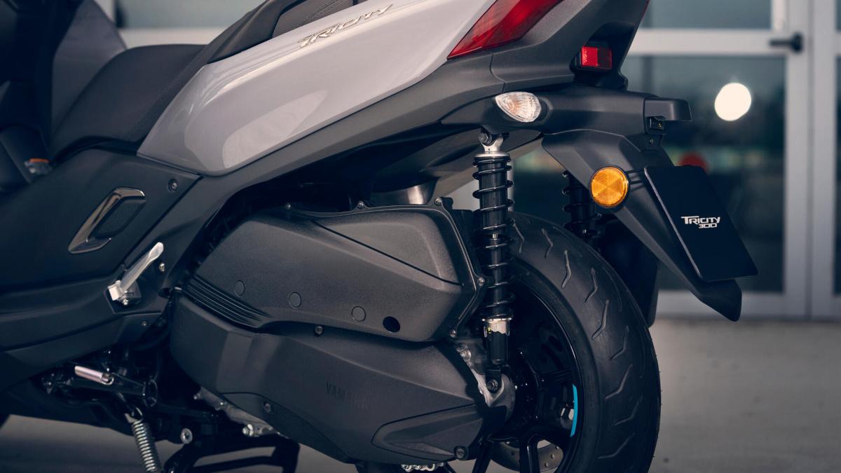 Yamaha Tricity 300 Engine